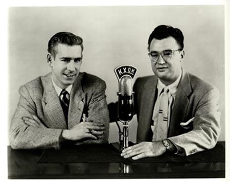 Jack Buck and Harry Caray